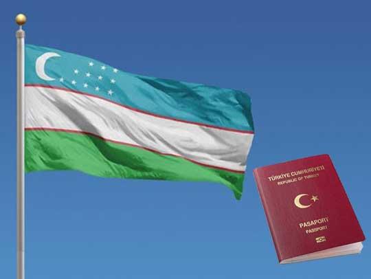 Özbekistan Vize Muafiyeti